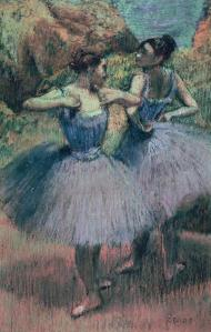 Dancers in Violet, Degas