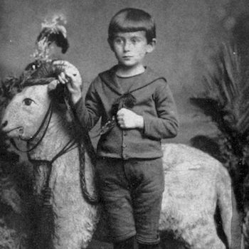 Kafka as a boy
