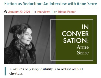 Anne Serre interview