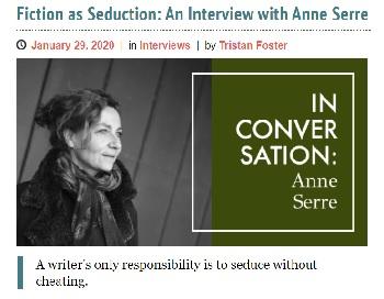 Anne Serre interview